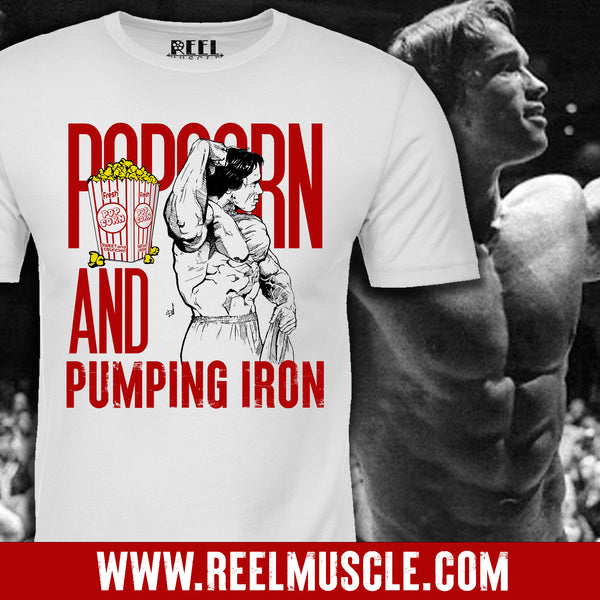 POPCORN & PUMPING IRON (FULLY STOCKED)