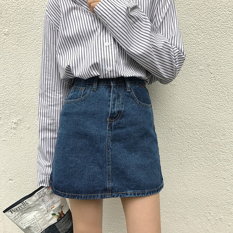 Jina Denim Skirt