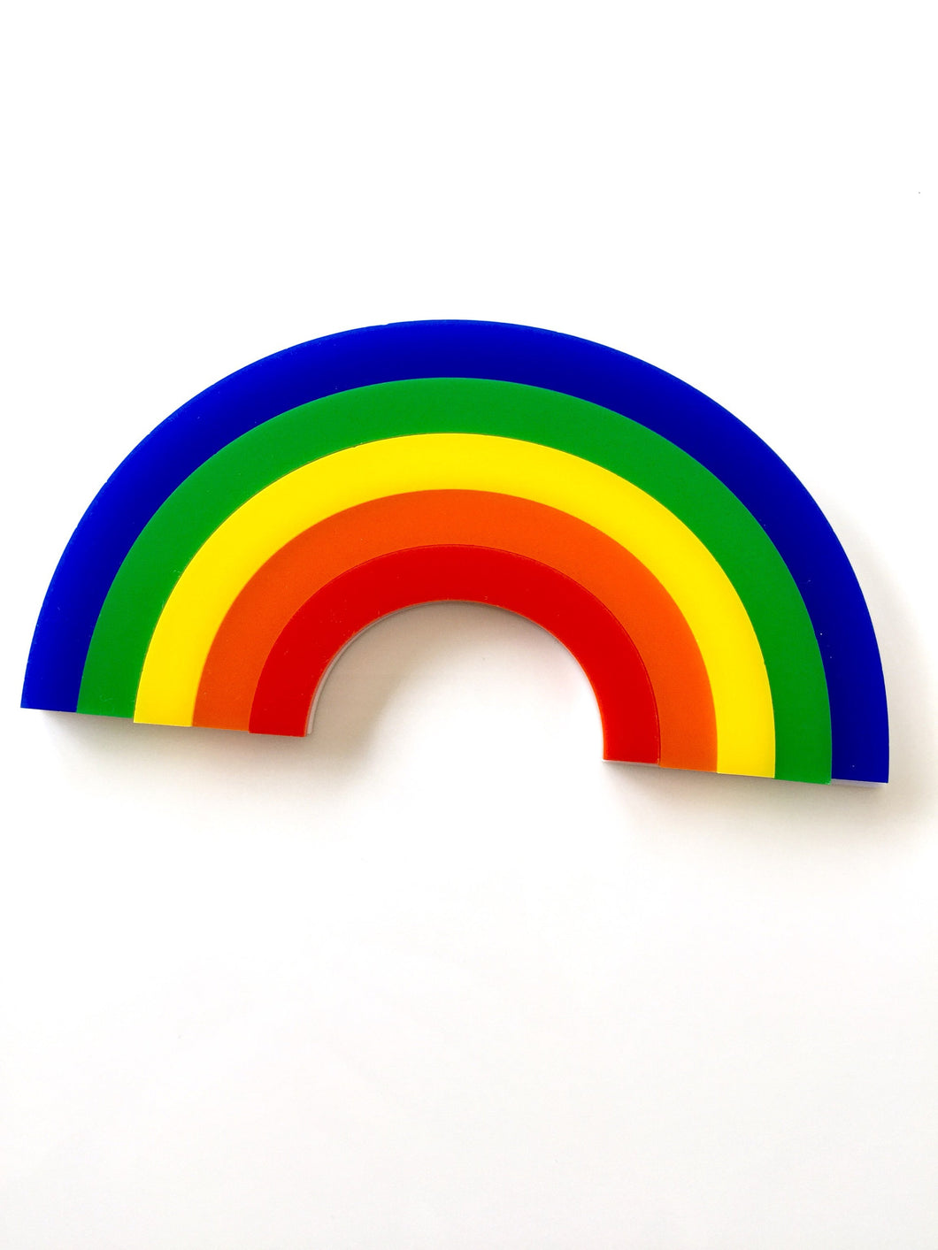 RAINBOWS Laser Cut Colourful Acrylic Wall Art Kids Room