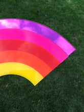 RAINBOWS Laser Cut Colourful Acrylic Wall Art