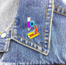 Microscope Pin by Spacecake Design