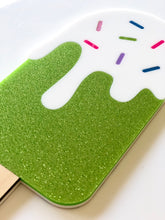 SPRINKLES ICE CREAM Double Layer Laser Cut Colourful Acrylic Wall Art
