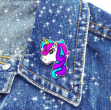 Unicorn Pin by Spacecake Design