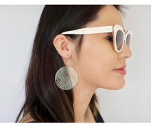 SODA CLEAR Acrylic Statement Earrings Wearable Art