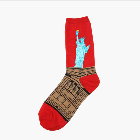 Long Statue of Liberty Socks