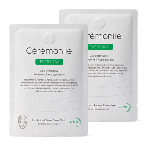 Cérémoniie Everyday Kennenlern-Set (2 Masken) - 10,95€ inkl. Versand