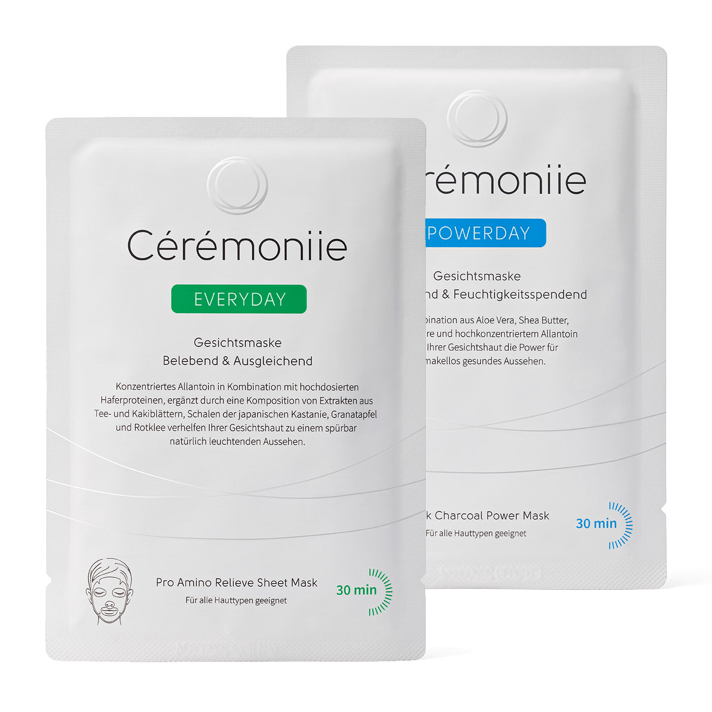 Cérémoniie Kennenlern-Set 1 x Everyday & 1 x Powerday für 12,95€ inkl. Versand