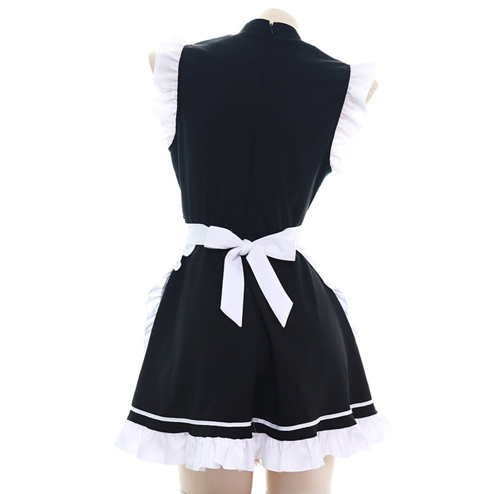 Kawaii Bow Maid Outfit