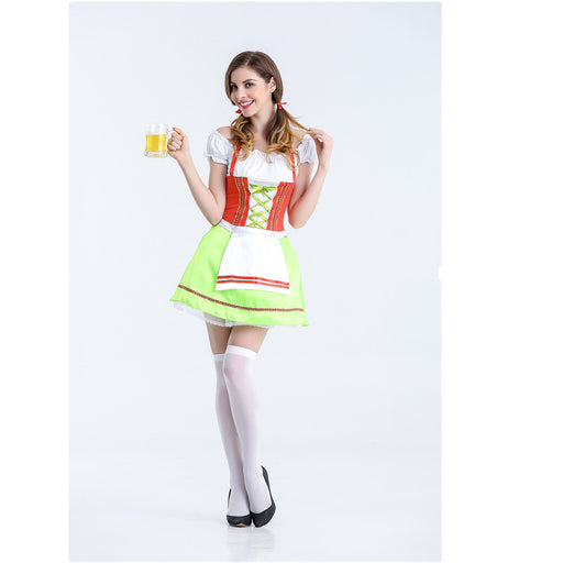 Ruffle Kawaii Pastel Choker Japanese Apron Maid Dress