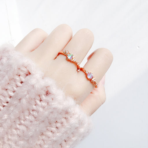 Sweet Love Sailor Moon Diamond Rings