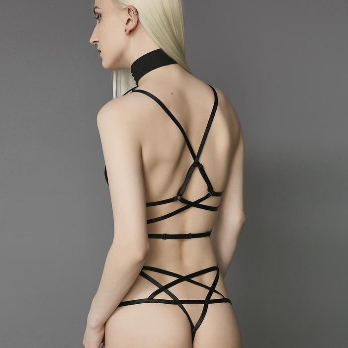Sexy Nighties - Sexy lace back strap bra