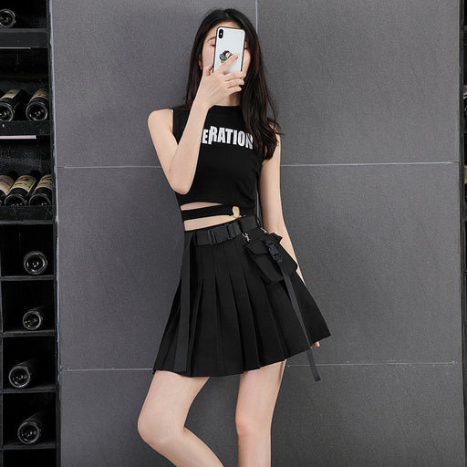 Anime  High waist skirt