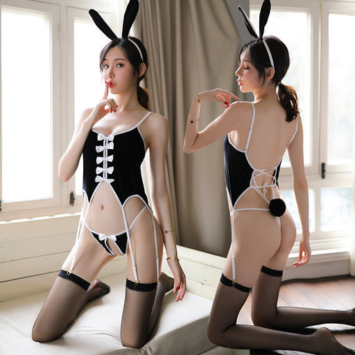 Naughty Cute Bunny Girl Costume Lingerie