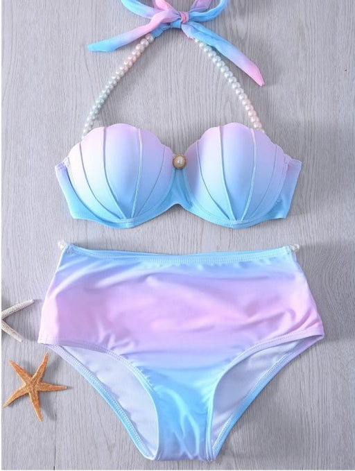 Pastel Mermaid Kawaii Japanese  Swimsuit
