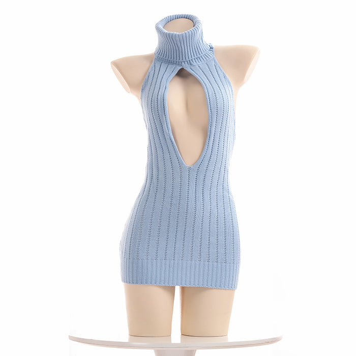 Virgin Killer Have Fun Japanese Sexy Hollow Out Keyhole Lingerie Dress