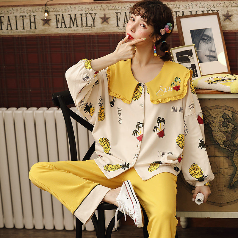 Pineapple Pajama Set