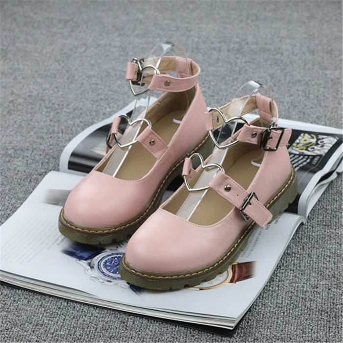 Japanese Girly Kawaii Mori Bow Lolita Shoes
