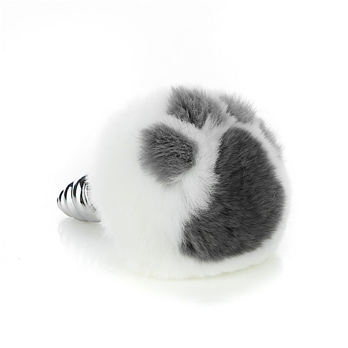 Sexy Kawaii Anime Removable Black Real Furry Cosplay Cat Butt Plug Tail