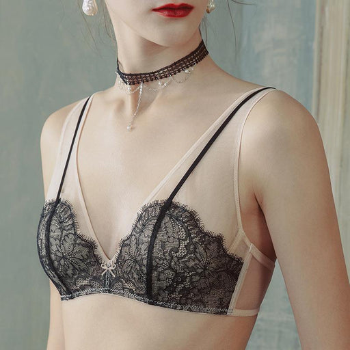 Bothyoung-Feather Like Bralette Set
