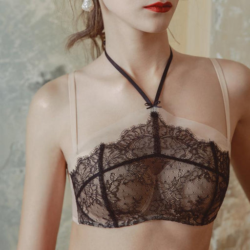 Bothyoung-Lace Tube Top  Bralette Set