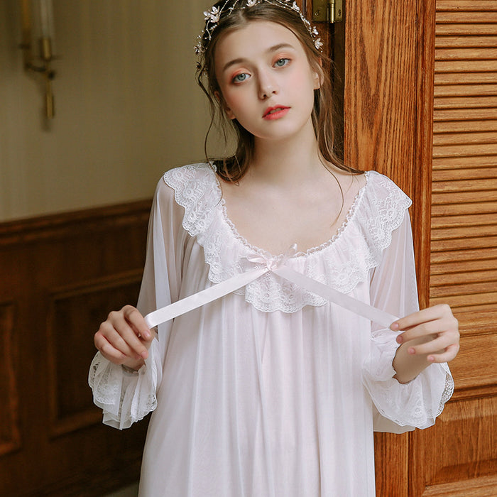 Victorian Era - Gauze Paza Sexy Night Gown