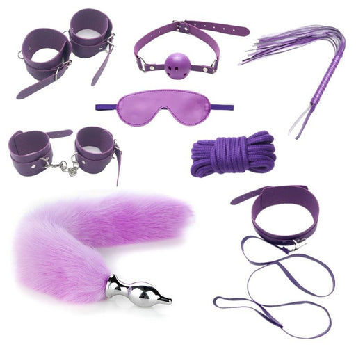 Kawaii Pink Angel Soft BDSM Lover Gothic Bondage 7 PCS Set