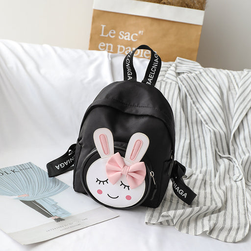 Kawaii  Cartoon bunny smiley backpack