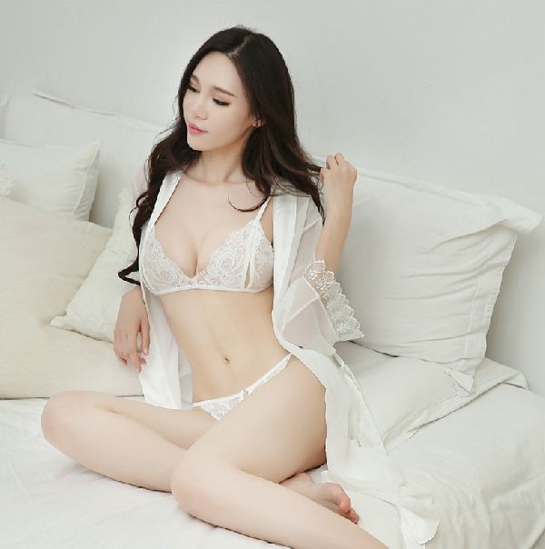 Erotic Underwear Perspective Sexy Lace Suspender Skirt Temptation Pajamas Suit