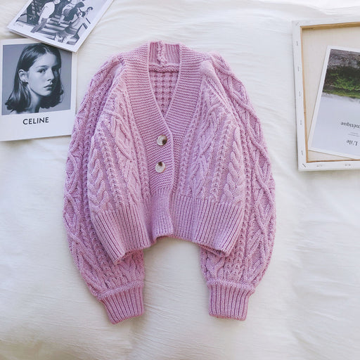 Kawaii Mori Girl Knit Cardigan