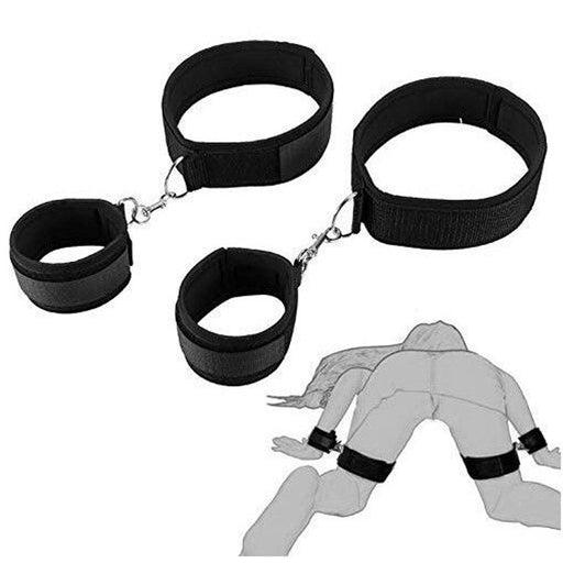 Bondage Gear Hand Cuff 2PCS Set