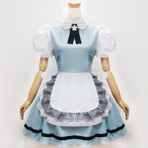 Lovely Angel Lolita Cosplay Maid Dress