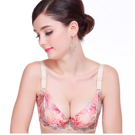Super Sexy Wildflower Underwire Bra - sofyee