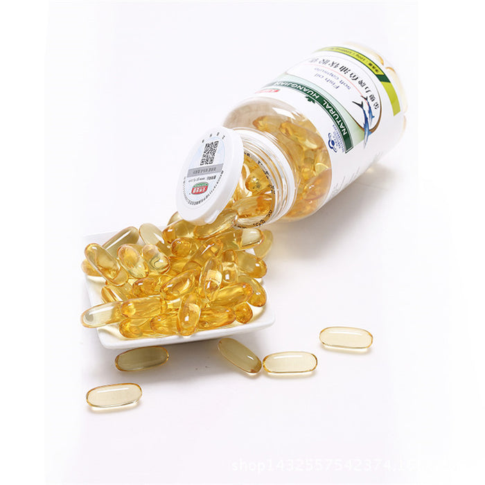 Anti Age Whitening Fish Oil Capsules Food Supplements