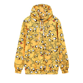 Puppy Lion Long Lined Hoodie
