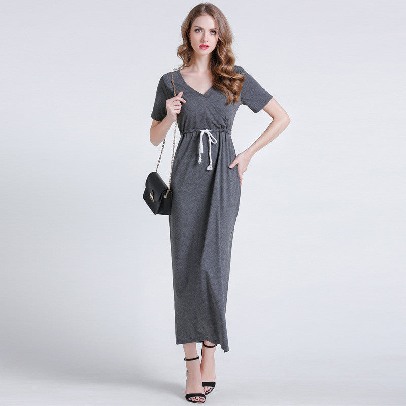 Cozy Life Ajustable Waist Dress - sofyee