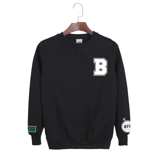 BTS  K-pop SUGA Young Forever Oversized Sweatshirt