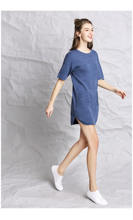 Clean Break T-Shirt Pocket Dress 20170715 - sofyee