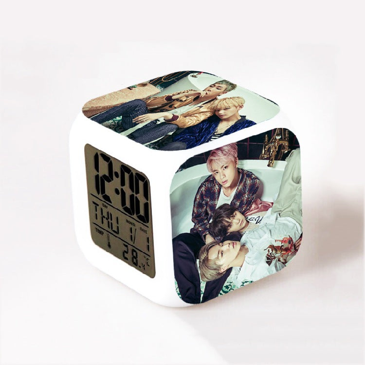 BTS Wings Clock