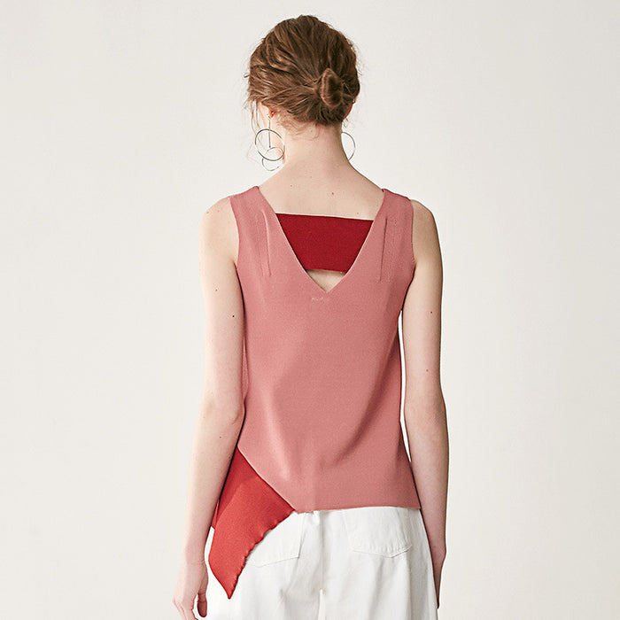 Lost In Wine Fine-Knit Tank - sofyee