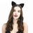 Anime Black Cat ear Headband Christmas Party Headband