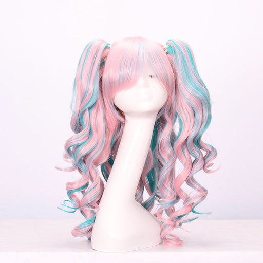 Lolita Pink Blue Aesthetic Tumblr Wigs