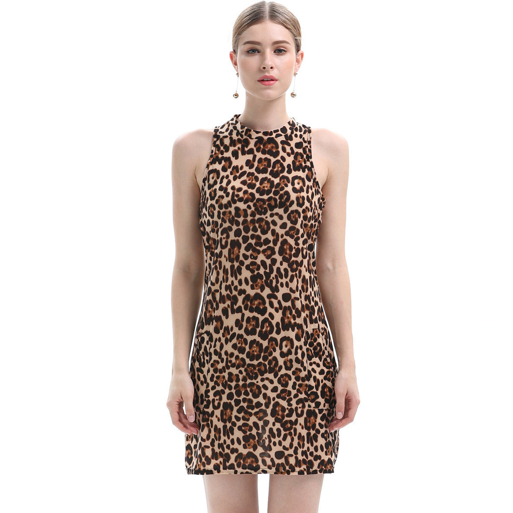 Live In The Rainforest Animal Printed Dress - sofyee