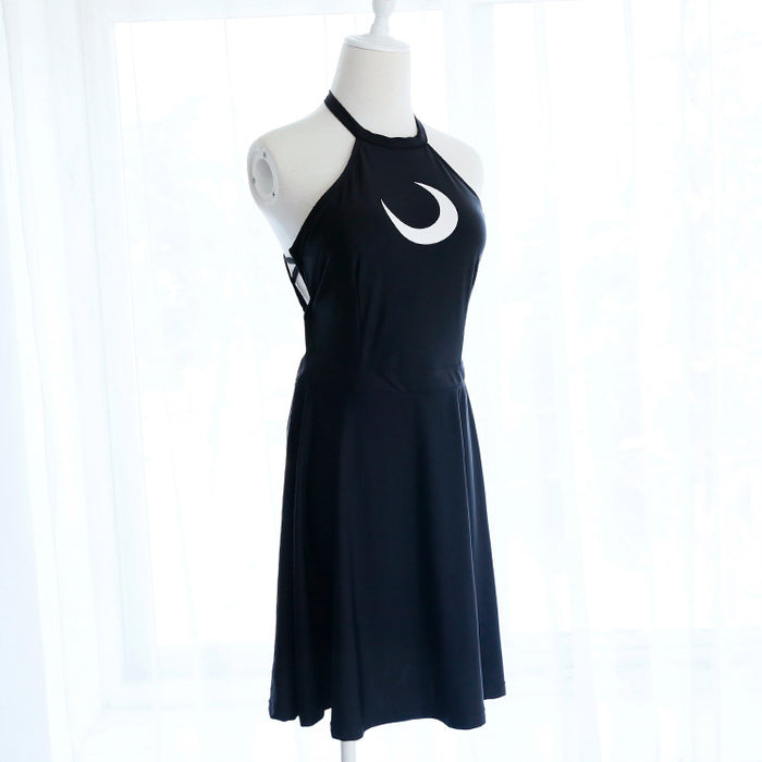 Sailor Moon Neko Choker Cosplay Costume Dress