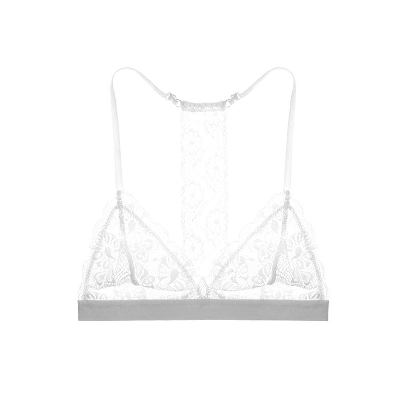 Romantic Eyelash Trimmed Bralette