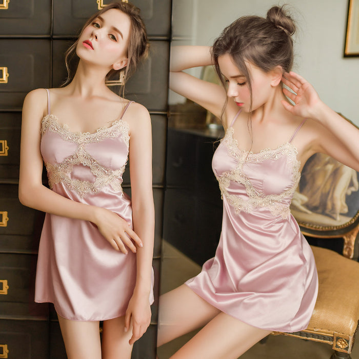 Sensual  Girl Bride Nightdress