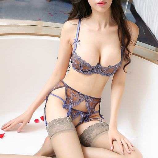 Sexy Floral Girly Lingerie Set