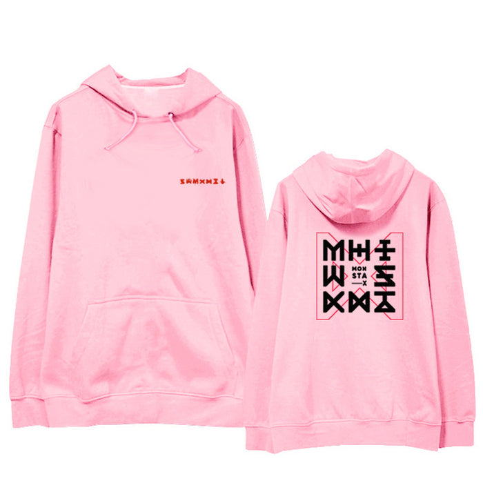 Kawaii Aesthetic You Need Pink Letter Oversized Hoodie SY002
