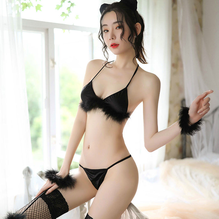 Kawaii Japanese Anime  Sexy cat  Bikini  Lingerie Set