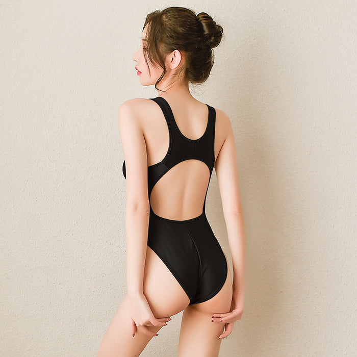 Hollow backless swimming cloth Japanese style sexy dead bank water suit