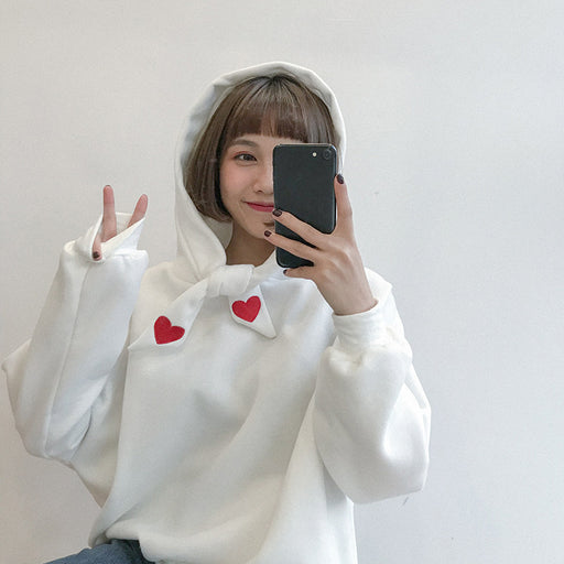 Sweet Heart Pastel Kawaii Aesthetic Hoodie